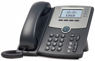Cisco SPA Handset compatible with Perspective's hosted cloud phone system